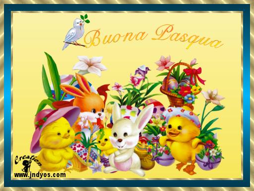 Cartoline virtuali di pasqua for Cartoline auguri di buona pasqua